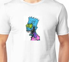 Simpsons Psych Bart Unisex T-Shirt