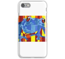 Primary Frog iPhone Case/Skin