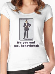 It's you and me  Women's Fitted Scoop T-Shirt