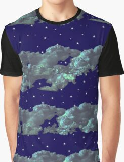 Evening Clouds Graphic T-Shirt