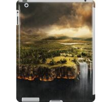 The Edge of Earth - Fantasy Flat Earth iPad Case/Skin