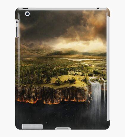 The Edge of Earth - Fantasy Flat Earth iPad Case/Skin