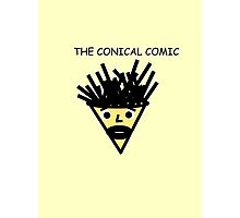 The Conical Comic (original) Photographic Print