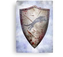 Stark Shield - Battle Damaged Metal Print