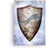 Stark Shield - Battle Damaged Canvas Print