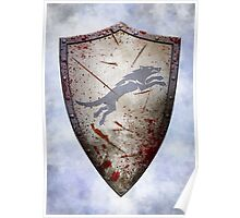 Stark Shield - Battle Damaged Poster