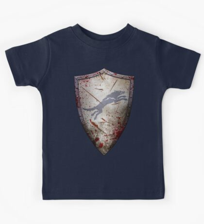 Stark Shield - Battle Damaged Kids Tee