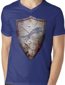 Stark Shield - Battle Damaged Mens V-Neck T-Shirt