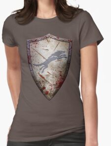 Stark Shield - Battle Damaged Womens Fitted T-Shirt