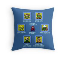 8-Bit Spider-Man Sinister Six Stage Select Throw Pillow