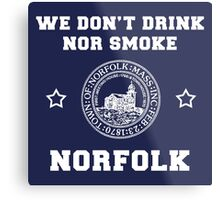 Norfolk Pride - Norfolk, MA Metal Print