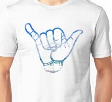 Hang Loose -  Beach Background Unisex T-Shirt