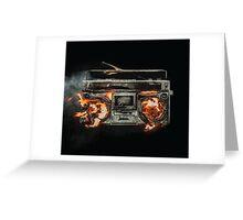 Green Day Revolution Radio Greeting Card