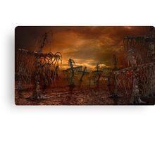Cross forest Canvas Print