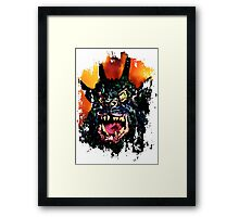 Night of the Demon Framed Print