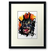 Night of the Demon Framed Print