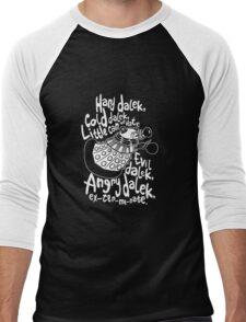 hard cold doctor who Men's Baseball ¾ T-Shirt