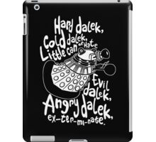 hard cold doctor who iPad Case/Skin
