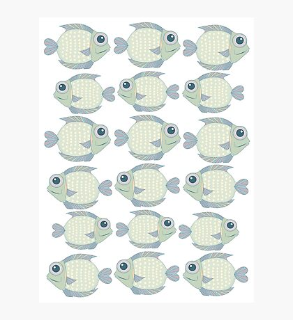 School Of Cool Fish Photographic Print