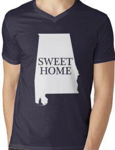 """""""SWEET HOME"""" ALABAMA Mens V-Neck T-Shirt"""
