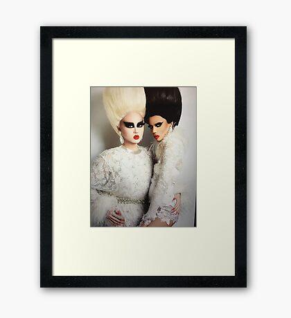 Kim chi & noami smalls  Framed Print