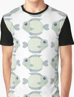 Two Cool Fish Graphic T-Shirt