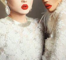 Kim chi & noami smalls  Sticker