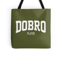 Dobro Player Tote Bag
