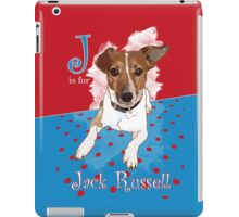 J is for Jack Russell iPad Case/Skin