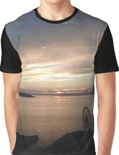 Seattle Sunset Graphic T-Shirt