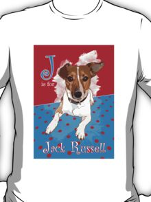 J is for Jack Russell T-Shirt
