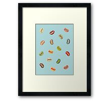 Jumpin' Jelly Beans Framed Print