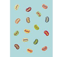 Jumpin' Jelly Beans Photographic Print