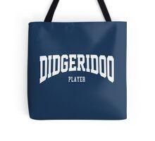 Didgeridoo Player Tote Bag