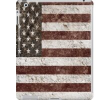 Country Road Textured American Flag iPad Case/Skin