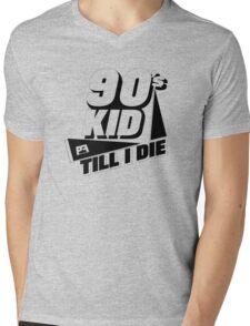 90's Kid Till I Die Mens V-Neck T-Shirt