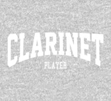 Clarinet Player One Piece - Short Sleeve