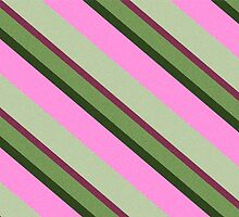 Pink Roses in Anzures 1 Stripes 3D by Christopher Johnson
