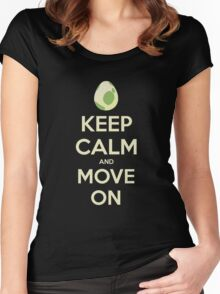 Move on! Women's Fitted Scoop T-Shirt