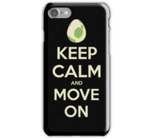 Move on! iPhone Case/Skin