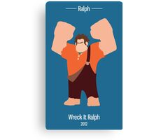 Ralph Illustration Canvas Print
