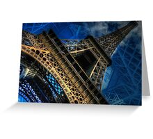Eiffel Deux Greeting Card