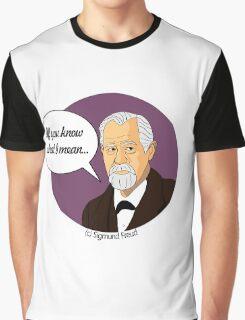 Funny science Sigmund Freud Graphic T-Shirt