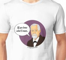 Funny science Sigmund Freud Unisex T-Shirt