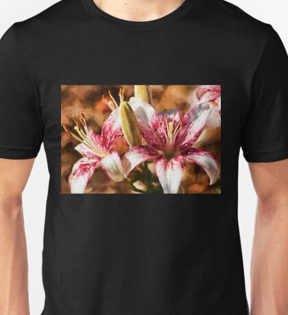 Stargazer Lily - Painted Unisex T-Shirt