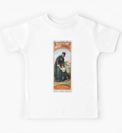 Performing Arts Posters The white slave by Bartley Campbell 0603 Kids Tee
