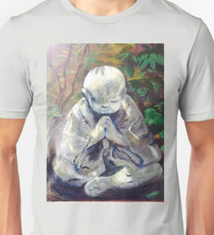 Blessing--Monk Statue Unisex T-Shirt