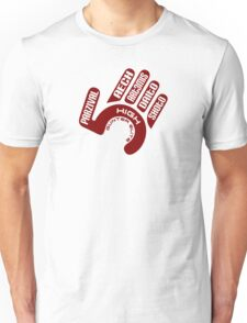 "Gunter Elite, The ""High Five"" Unisex T-Shirt"