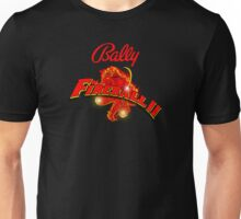 Bally pinball machine Fireball II  Unisex T-Shirt