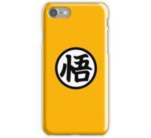 DBZ Goku Symbol Sticker  iPhone Case/Skin